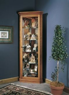 Keepsakes Corner Curio Cabinet