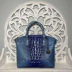 Brahmin Duxbury Satchel Electric Blue Melbourne Leather | eBay Brahmin Handbags, Blue Ombre, Electric Blue, Melbourne, Satchel, Tote Bag, Leather, Ebay, Brahmin Bags