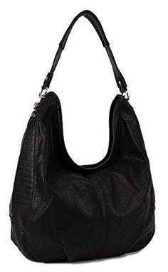 Scarleton Side Stitch Accent Hobo Bag H1457