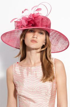 I love hats. I watch the Kentucky Derby to see all the hats, and hope to wear one there one day!!!
