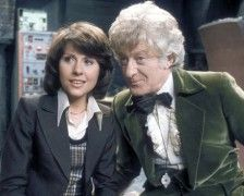 Early SJS with her 1st Doctor, our #3, Jon Pertwee