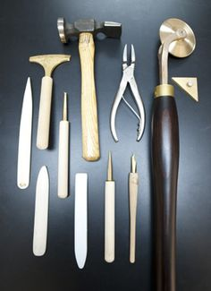 Bookbinding tools- I've always wanted to learn... maybe one day I will ^_^