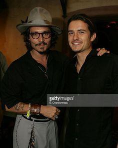 - Johnny Depp and Orlando Bloom