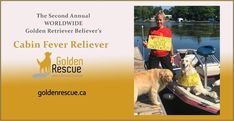 Golden Events, Cabin Fever, Rescue Dogs, Trivia, Quizes