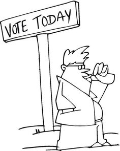 election day coloring pages - visit all our