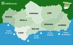 The four coasts of Andalucia - 800km of beaches!