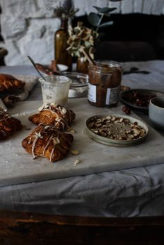... pumpkin pie with hazelnut praline recipes dishmaps spiced pumpkin pie