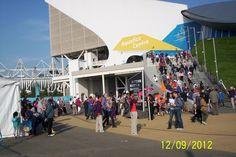 Aquatic Centre. September 3, 2012