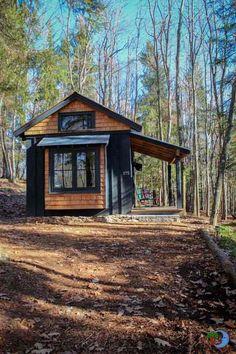 Exploren la cabaña diminuta Blue Moon Rising y todas sus comodidades