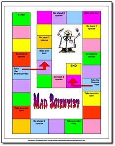 Mad Scientist Vocabulary Game freebie - Fun way to practice vocabulary skills! Science Words, Teaching Vocabulary, Vocabulary Games, Science Lessons, Teaching Science, Science Activities, Mad Science, Vocabulary Strategies, Teaching Reading
