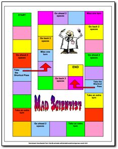 Mad Scientist Vocabulary Game freebie - Fun way to practice vocabulary skills!