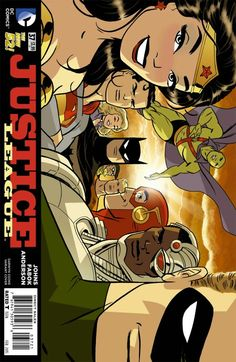 Justice League (DC Comics, 2011) #37 Darwyn Cooke Variant Cover