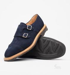 Mark McNairy x C Store Double Buckle Monk Shoes
