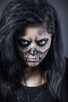 Black Widow Spider Costume Ideas Maquillaje Halloween Para Nios