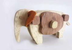 Wooden toy by sinem kumdere, via Behance