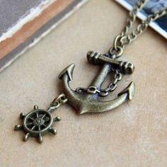 Ukulele Necklace Sterling Silver