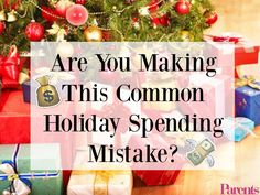 Unbelievable! One-third of parents admit to making this common holiday spending mistake. Are YOU?