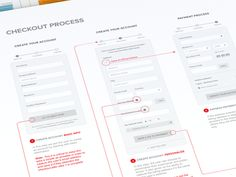 Dribbble - Simplified Checkout Process by Michael Pons
