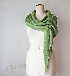 Ungefähre Grössenangabe mit meinem handgesponnenen Garn/Approximate size with my handspun yarn