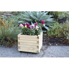 EuropeanGardenLiving Horizonta European Spruce Planter Box Planter Bench, Planter Boxes, Planters, Wood, Products, Window Boxes, Woodwind Instrument, Timber Wood, Plant