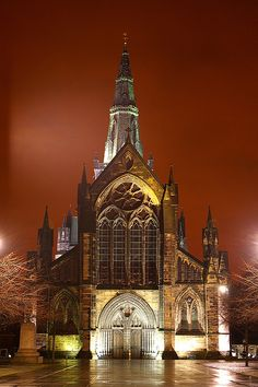 Glasgow Cathedral #Glasgow #Scotland #Escocia