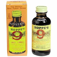 • The smell of Hoppe's No. 9