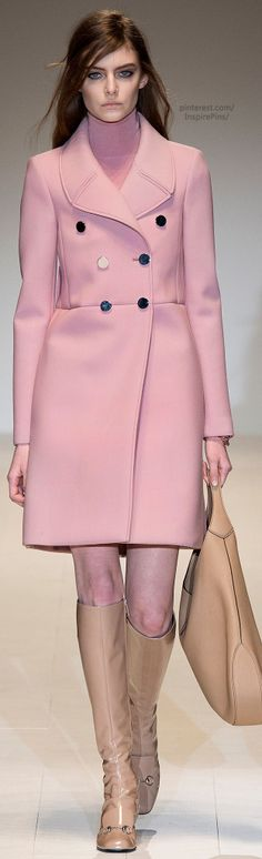 Fall 2014 Ready-to-Wear Gucci...... Blush is never leaving and I LOVE IT