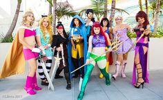 Pinner before: Superhero Disney Princesses! I really love this idea! :D