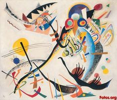 "Kandinsky ""Blue Segment"""
