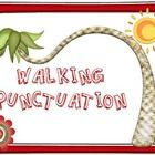I love this activity - gets kids moving while learning about punctuation. And it is free!