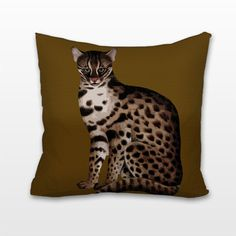 Big Cat, Cushion, Pillow – Chelsea Needlepoint