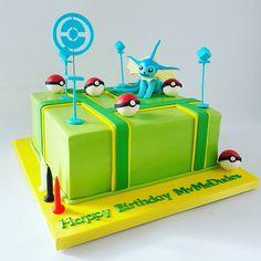 Pokémon Go cake