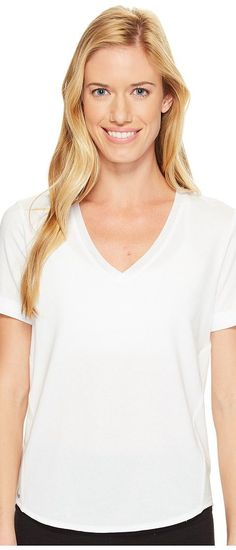 Lole Kesha Short Sleeve Top (White) Women's Short Sleeve Pullover - Lole, Kesha Short Sleeve Top, LSW1880-001, Apparel Top Short Sleeve Pullover, Short Sleeve Pullover, Top, Apparel, Clothes Clothing, Gift, - Street Fashion And Style Ideas