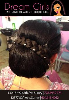 Bridal packages available. #hairstyles #updo #dreamgirlsbeauty #dreamgirlsbeautysalon