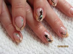 Fée Clochette/ Tinkerbell by Tif26 from Nail Art Gallery