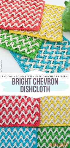 kitchen crochet Crochet Potholders Free Patterns - Free Crochet Patterns How to Build a Simple Potti Crochet Kitchen, Crochet Home, Crochet Crafts, Hand Crochet, Crochet Projects, Free Crochet, Crochet Rugs, Crochet Potholder Patterns, Crochet Dishcloths