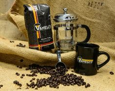 French Press Kit includes mug, fresh roasted coffee and 4 cup French Press. Fresh Roasted Coffee, Brewing Equipment, Great Father's Day Gifts, Press Kit, French Press, Gifts For Father, Coffee Maker, Mugs, Coffee Maker Machine