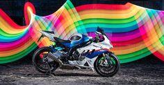 BMW S1000RR  http://Lumenatic.com  #motorrad #bmw #beemer #s1000rr #superbike #lightpainting #pixelstick #motorbike #motorcycle