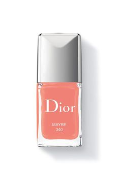 Try a peachy Dior polish for spring with this refreshing pretty shade in Maybe,