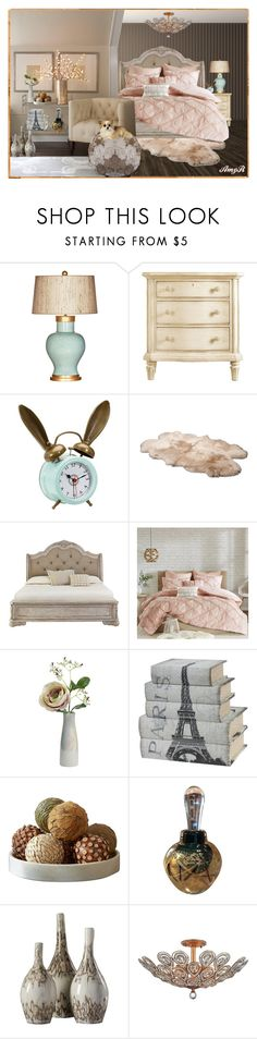 """Bedroom #4"" by amyr1 ❤ liked on Polyvore featuring interior, interiors, interior design, home, home decor, interior decorating, Barclay Butera, Stanley, PBteen and UGG Australia"