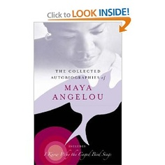 Maya Angelou autobiographical collection. Best to get them all because once u start on the first one you won't want to stop until you've read them all. Fascinating life!