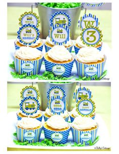 Vintage Train Birthday Custom Party 2 Inch by KellysCottageShoppe, $5.50