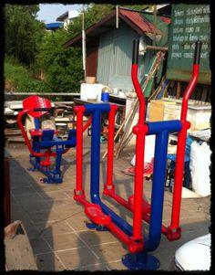 ส่งมอบงานและติดตั้งอุปกรณ์เครื่องออกกำลังกายกลางแจ้ง ให้ลูกค้า ตำบลหลักหก จังหวัดปทุมธานี สนใจสินค้าสอบถามรายละเอียดได้ที่ 086-750-7142  http://www.nextvision.lnwshop.com http://www.facebook.com/fitnessandtoys