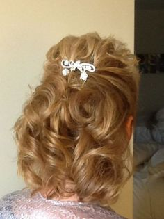Mother of the bride hair | Wedding