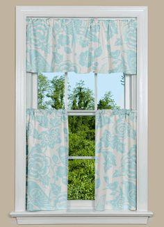 Gentil Thomas Paul Foliage Kitchen Curtains. From $126/window Modern Kitchen  Curtains, Modern Curtains