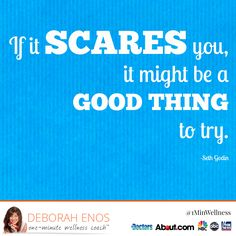 Does making a change scare you? Try to make small changes this week!   #MotivationalMonday