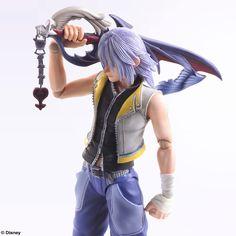 Kingdom Hearts Riku Play Arts Kai Figure Coming Soon