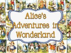 British Literature, Alice's Adventures in Wonderland Just Updated! Be sure to redownload the pack!Product Download has a ZIP FILE:*There are 42 Famous Illustrations that you can print as a poster, or as a student handout...my students have used them as coloring pages or bulletin board/classroom art. $