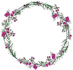 i.mycdn.me image?id=838673001651&t=3&plc=WEB&tkn=*Afckwfy-tfiZqxlQHpFqgKlwefk Flower Circle, Flower Frame, Flower Art, Embroidery Patterns, Hand Embroidery, Wreath Drawing, Borders And Frames, Watercolor Flowers, Cute Wallpapers