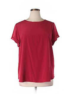 Chico's Short Sleeve Blouse Size XL